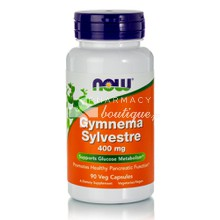 Now Gymnema Sylvestre 400mg - Πάνγκρεας, 90 veg. caps