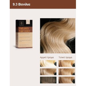 Apivita nature s hair color 9.3