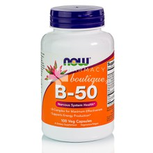 Now Vitamin B-50 Complex, 100caps