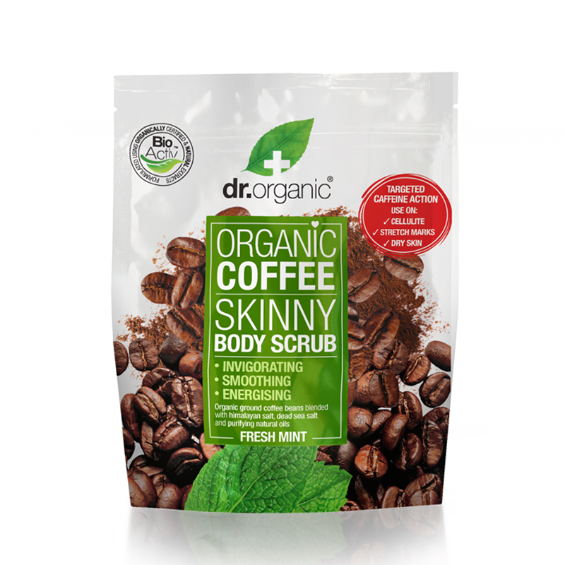 Organic Coffee Skinny Body Scrub 200ml