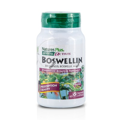 NATURE'S PLUS - HERBAL ACTIVES Boswellin 300mg - 60caps