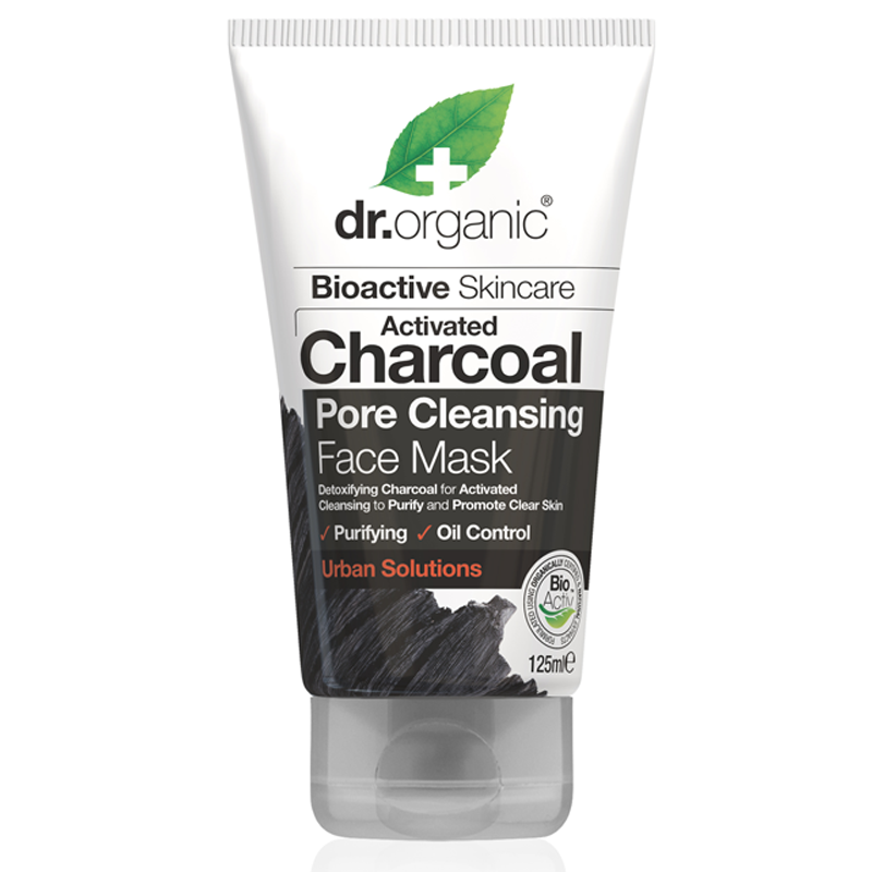 Activated Charcoal Deep Cleansing Face Mask 125ml