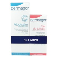 Dermagor Atopicalm 250ml & Δώρο Dermagor Gel De Toilette 200ml