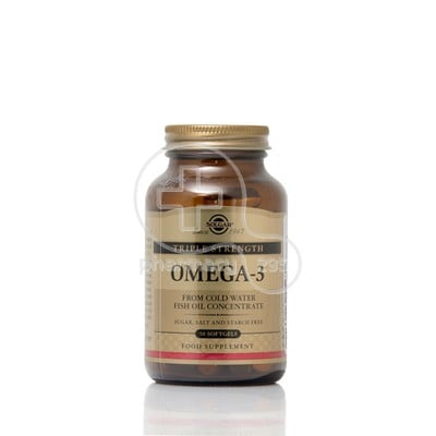 SOLGAR - Omega-3 Triple Strength - 50softgels