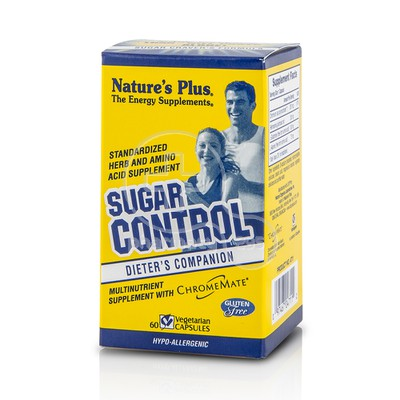 NATURE'S PLUS - Sugar Control - 60caps