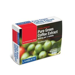 Lamberts Pure Green Coffee Extract 60 Ταμπλέτες