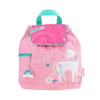 STEPHEN JOSEPH - Quilted Backpack (Unicorn)