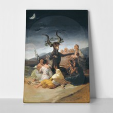 Goya witches sabbath2