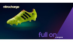 Adidas releases new boot silo designed to nitrocharge your game - Nitrocharge boot created especially for 'The Engine' Player