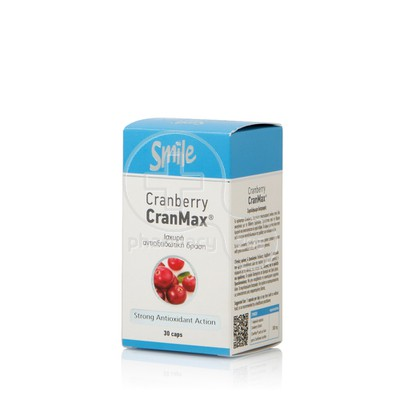 SMILE - Cranberry CranMax 500mg - 30caps