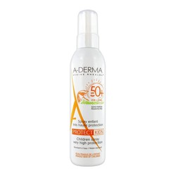A-Derma Spray Enfant Protect Kids SPF50 200ml - Aντηλιακό Με Υψηλή Προστασία