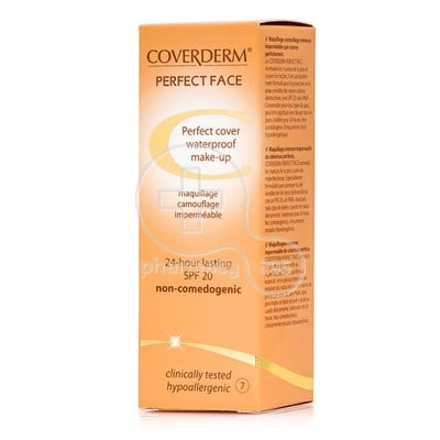 COVERDERM - PERFECT FACE SPF20 Νο7 - 30ml