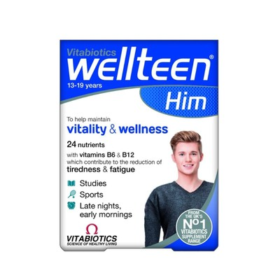 Vitabiotics - Wellteen Him - 30tabs