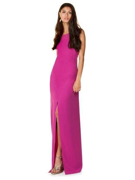 Maxi dress with cut outs