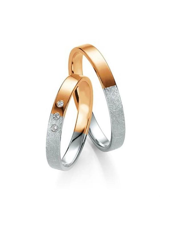 ΒΕΡΕΣ. Basic Light Κ14 Δίχρωμη με Διαμάντια. BENZ 0bd0849a0b6