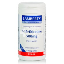 Lamberts L-METHIONINE 500mg, 60caps