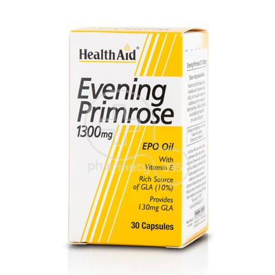 HEALTH AID - Evening Primrose 1300mg - 30caps