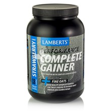 Lamberts COMPLETE GAINER STRAWBERRY - Φράουλα, 1816gr