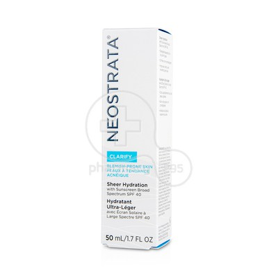 NEOSTRATA - CLARIFY Sheer Hydration SPF40 - 50ml