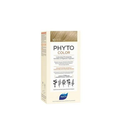 PHYTO PHYTOCOLOR 10 BLOND EXTRA CLAIR