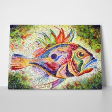 Fish bright stylized art 69336022 a