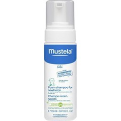 Mustela Foam Shampoo For Newborns Σαμπουάν για Βρέφη 150ml