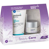 Medisei Panthenol Extra Beauty Care Face & Eye Cream 50ml & Face Cleansing Gel 150ml