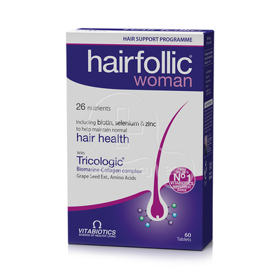 VITABIOTICS - HAIRFOLLIC Woman - 60tabs