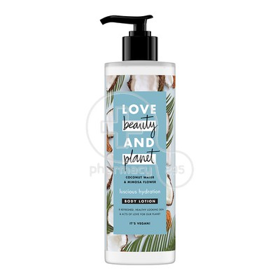 LOVE BEAUTY AND PLANET - COCONUT WATER & MIMOSA FLOWER Body Lotion - 400ml