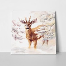 Handpainted deer 362547131 a
