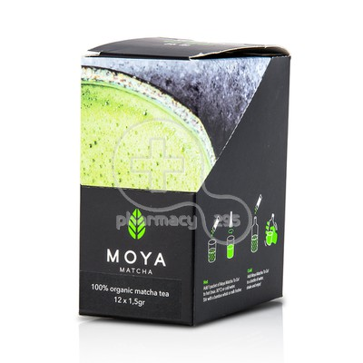 MOYA MATCHA - TO GO Traditional Matcha Tea - 12x1,5gr