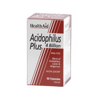 HEALTH AID ACIDOPHILUS PLUS 4 BILLION 60VEG. CAPS