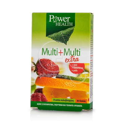 POWER HEALTH - Multi+Multi Extra - 30tabs