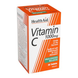 HEALTH AID Vitamin C 1000mg prolonged release 30tablets