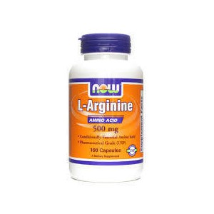 Now foods l arginine 500 mg
