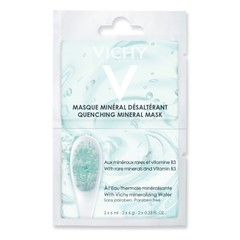 Vichy Quenching Mineral Mask With Rare Minerals & Vitamin B3 2x6ml