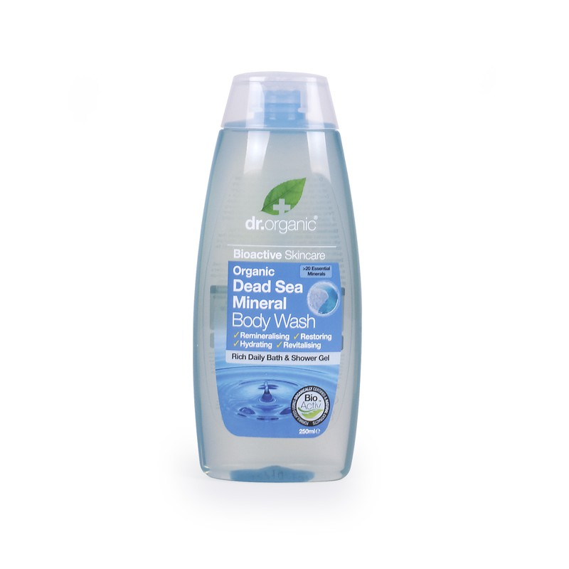 Organic Dead Sea Mineral Body Wash 250ml
