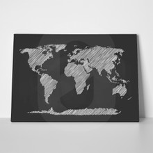 Chalkboard world map 505329745 a
