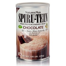 Natures Plus Spiru-Tein Chocolate - Σοκολάτα, 476gr