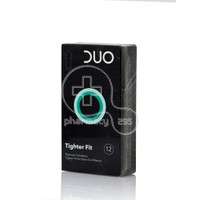 DUO - Προφυλακτικά Tighter Fit - 12pcs