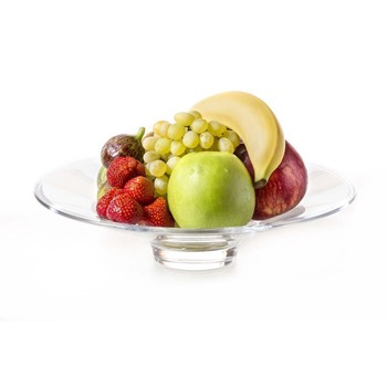 Glass Platter With Selection of Fruits (Medium Size)