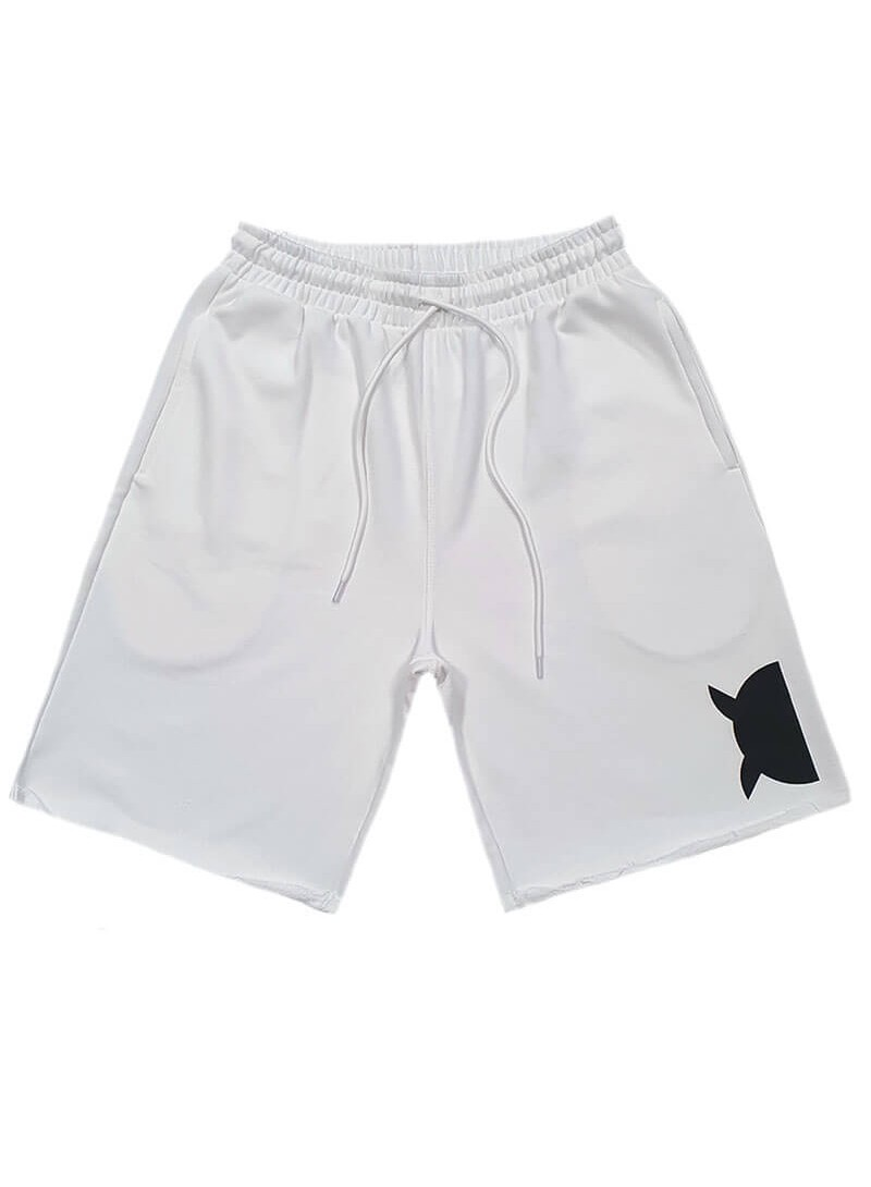 OWL CLOTHES SHORTS WHITE CLASSIC