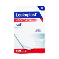 LEUKOPLAST SOFT 19MM X 72MM (20τμχ)