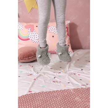 Παντοφλάκια Sherpa New Baby NB0127 Grey Palamaiki