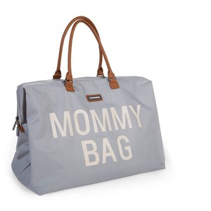 Τσάντα Αλλαγής Childhome Mommy Bag Grey Off White