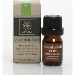 Apivita Essential Oil Βασιλικός, 5ml