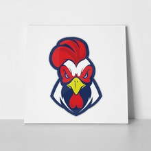 Chicken rooster head stamp 653608666 a