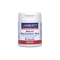 LAMBERTS BETA CAROTENE 15MG 90CAPS