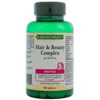 NATURE'S BOUNTY HAIR & BEAUTY COMPLEX 60TABL