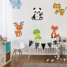 Cute animal set web